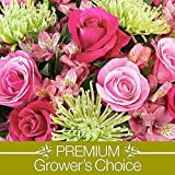 Premium Growers Choice with FREE Vase & Chocolates - Flowers