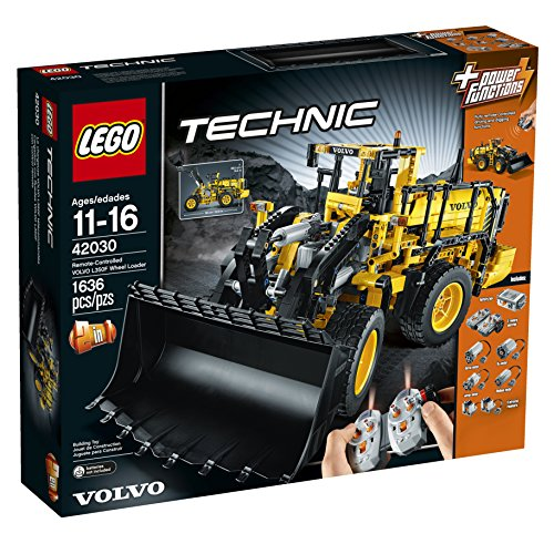 LEGO Technic 42030 Remote Controlled VOLVO L350F Wheel Load (Volvo L350f Wheel Loader compare prices)