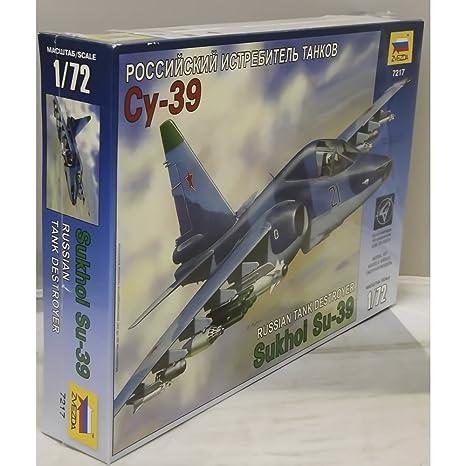 Zvezda - Z7217 - Maquette - Sukhoï SU-39 - Echelle 1:72