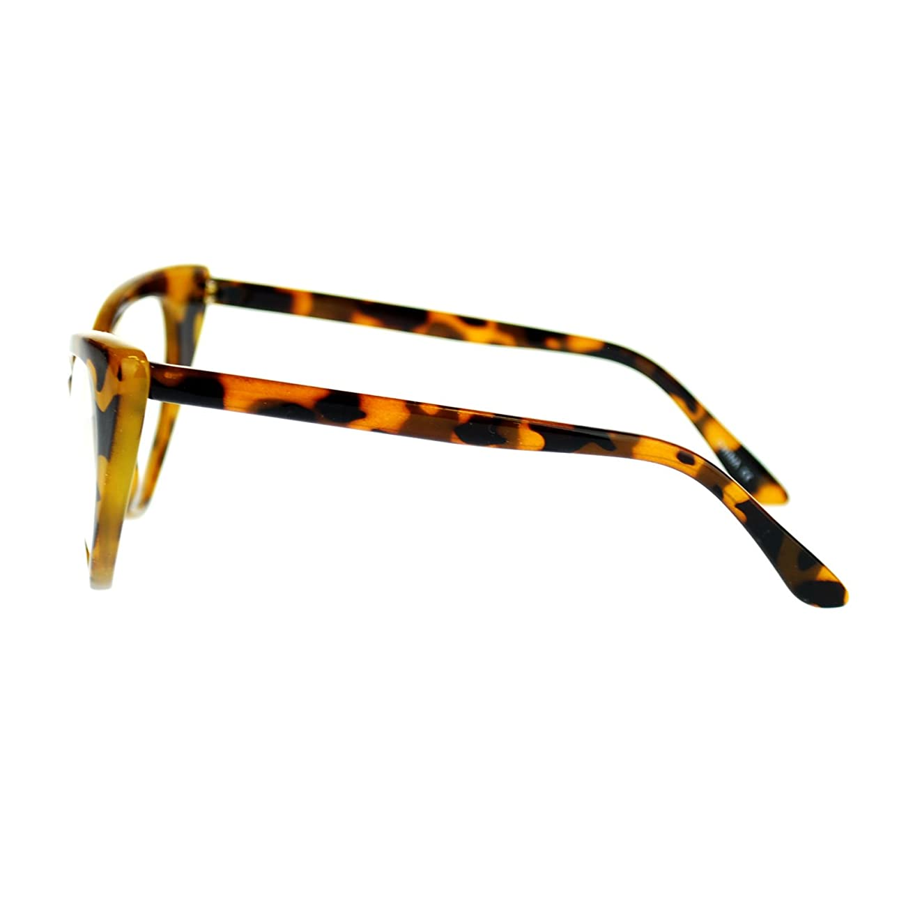 Womens Goth Mod Chic Classic Retro Cat Eye Optical Glasses 3