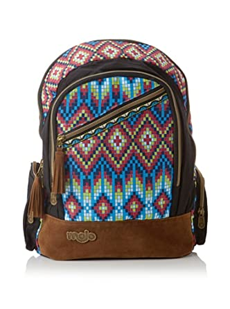 Mojo Mohawk Backpack -One Size- Red/Orange/Blue