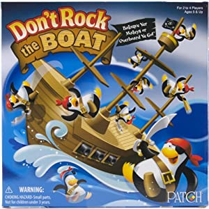 Don't Rock The Boat Game- Don't Rock The Boat Game-