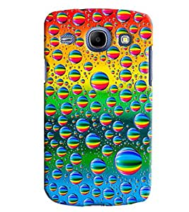 Blue Throat Bubble Made Of Colored Hard Plastic Printed Back Cover/Case For Samsung Galaxy Core