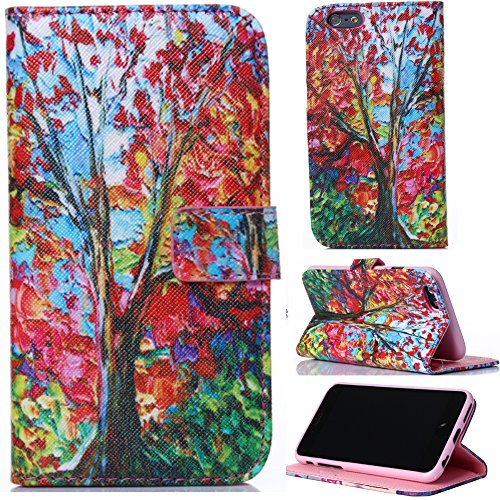 """Iphone 6 Plus Case,Iphone 6 Case,Iphone 6.0 Case,Creativecase Carryberry Iphone 6 5.5"""" Beautiful Picture Leather Case And Flip Id Card Wallet Leather Purse Design Case Cover For Iphone 6"""