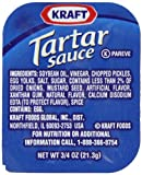 Kraft Tartar Sauce, 0.75-Ounce Cups (Pack of 200)