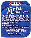 Kraft Tartar Sauce, 0.75-Ounce Cups (...