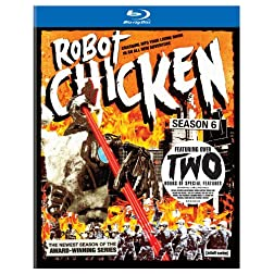 Robot Chicken: Season Six [Blu-ray]