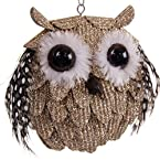 Feathered Owl Ornament
