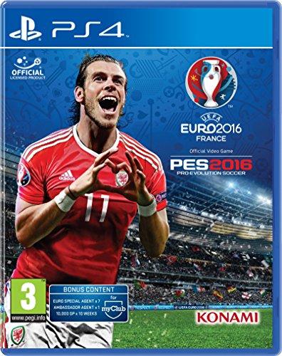 PES 2016 Pro Evolution Soccer UEFA EURO 2016 (PS4)