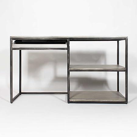 Oficina, metal y madera, IF598/blanco