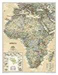 Africa Executive, tubed Wall Maps Con...