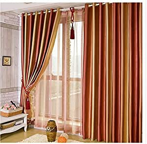 Red and brown living room car interior design - Amazon curtains living room ...
