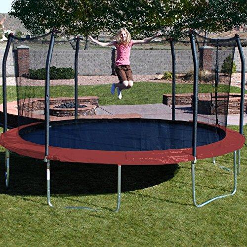 Skywalker 17 Ft Wide And Safe Oval Trampoline