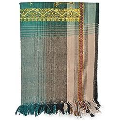 Btex Women's Shawl (N Green,80 Cms)