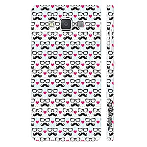 Samsung Galaxy A5 I Love Moochad designer mobile hard shell case by Enthopia