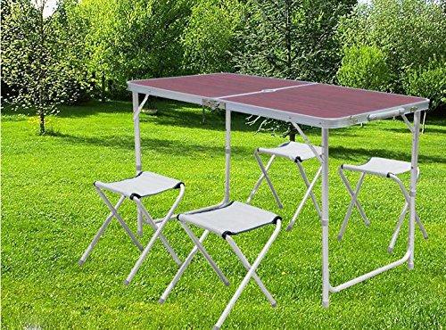 campingtisch mit hocker preisvergleiche. Black Bedroom Furniture Sets. Home Design Ideas