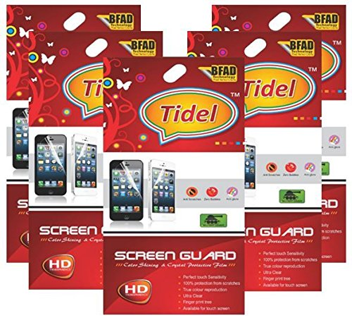 Tidel Ulta Clear HD Screen Guard Protector for Micromax Canvas Mad A94 (pack of five)  available at amazon for Rs.179