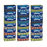 Kleenex Facial Tissues Family Size, 210 Count (Pack of 18)