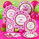 Creative Converting - A New Little Princess Baby Shower Standard Party Pack
