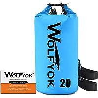 Wolfyok 20-liter Roll Top Duffle Dry Bag