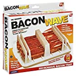 Bacon Wave Microwave Bacon Tray, 1 each