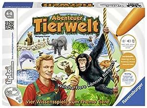 """Ravensburger 00513 - tiptoi Spiel Abenteuer Tierwelt"""""""