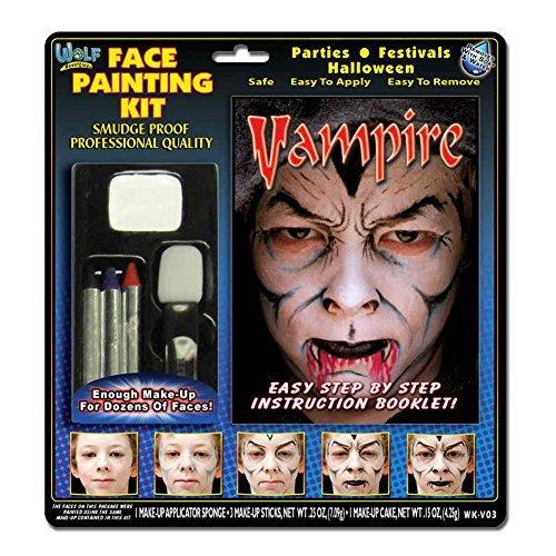 Vampire Makeup Kit Wolfe Bros - 1