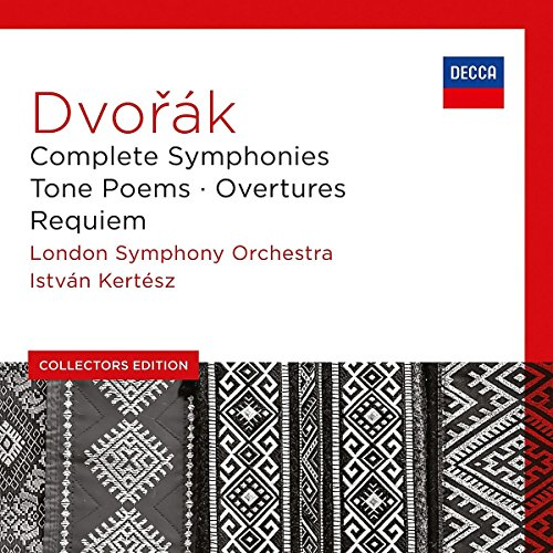 Dvorak: Complete Symphonies, Tone Poems, Overtures, Requiem (Collectors Edition) (Dvorak Symphonies Kertesz compare prices)