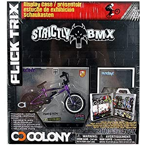 Trix Display Case And Bike - Strictly BMX And Colony: Toys & Games