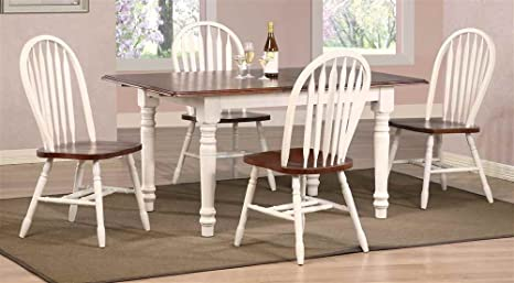 5 pc Butterfly Dining Set with Arrowback Chairs