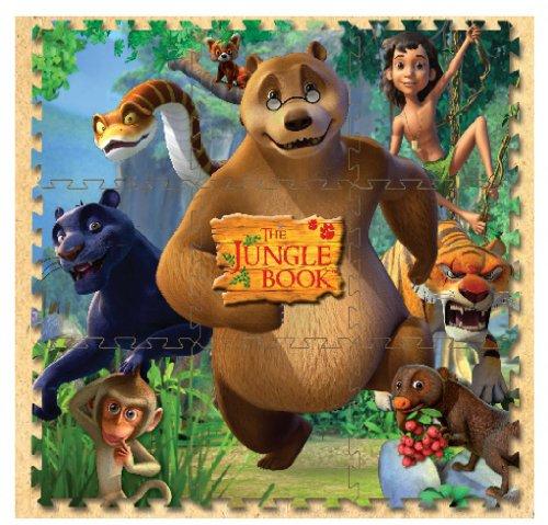 Jungle Book 9 Pcs Floor Mat- Baloo - 1