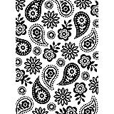 Darice Floral Paisley Embossing Folder (Tamaño: 4.25
