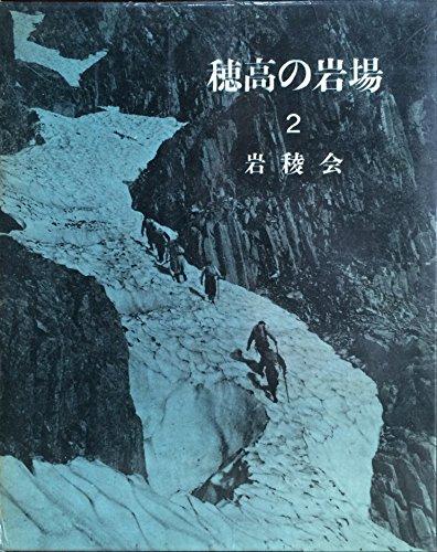 穂高の岩場〈第2〉 (1960年)