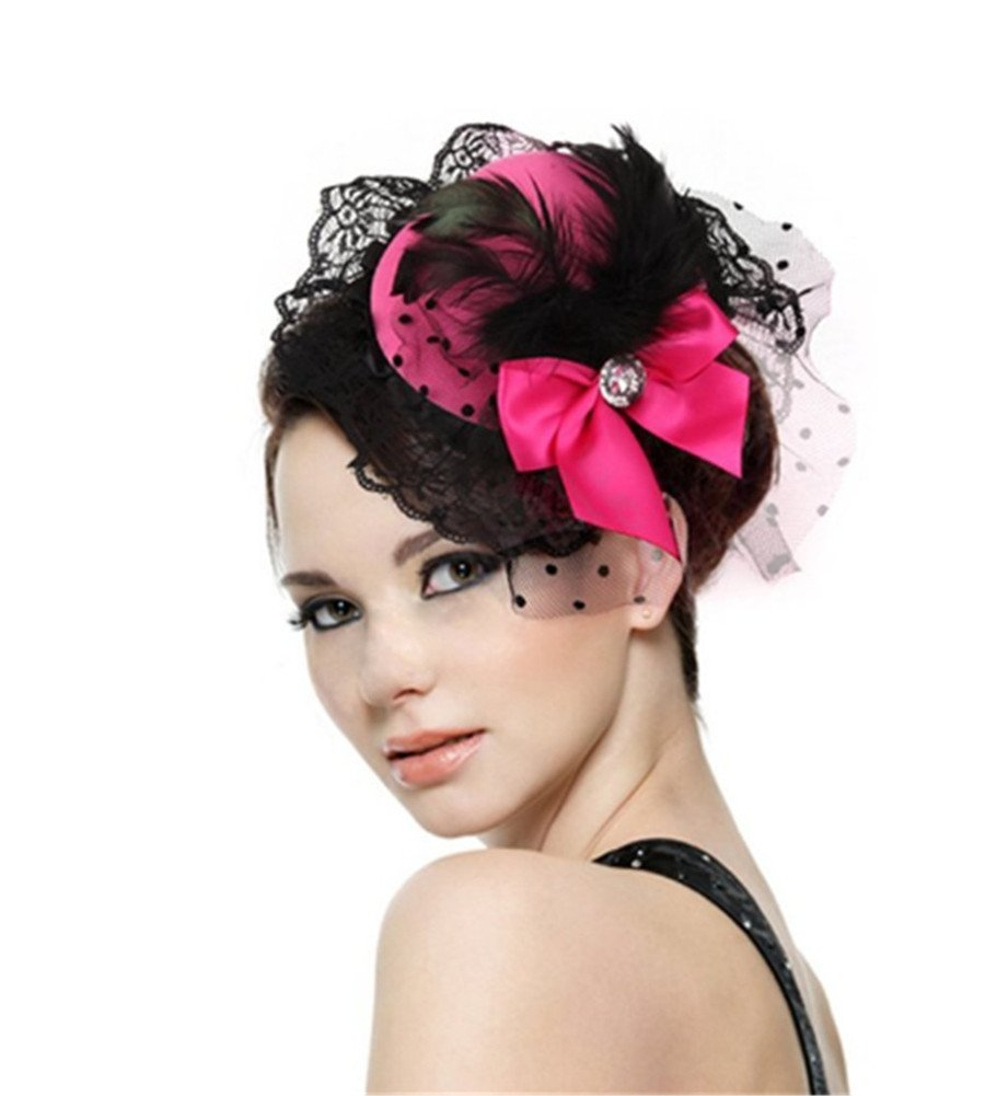 Mini Bow Top Lovely Hat