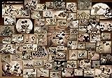 ディズニー 1000ピース ミッキーマウス モノクロ映画コレクション D-1000-398