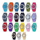 Wholesale 12 Assorted Geneva Platinum Women's watch 6886