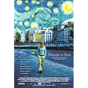 Midnight in Paris Movie on DVD