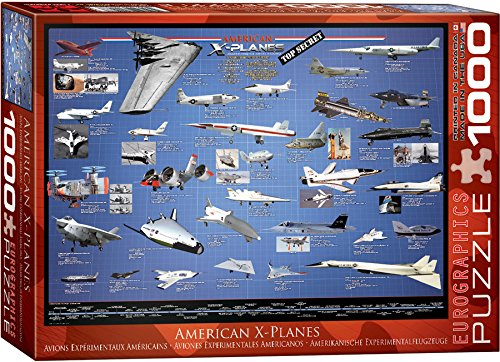 EuroGraphics American Aviation X Planes 1000 Piece Puzzle (1000 Piece Airplane Puzzle compare prices)