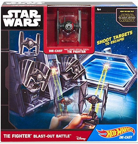 Hot Wheels – Star Wars – TIE Fighter Blast-Out Battle – Coffret Décor + Mini X-Wing Diecast