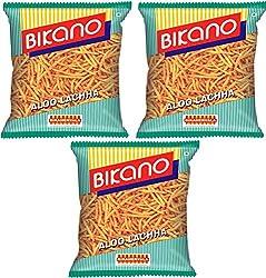 Bikano Aloo Lachcha, 3 x 150 gm