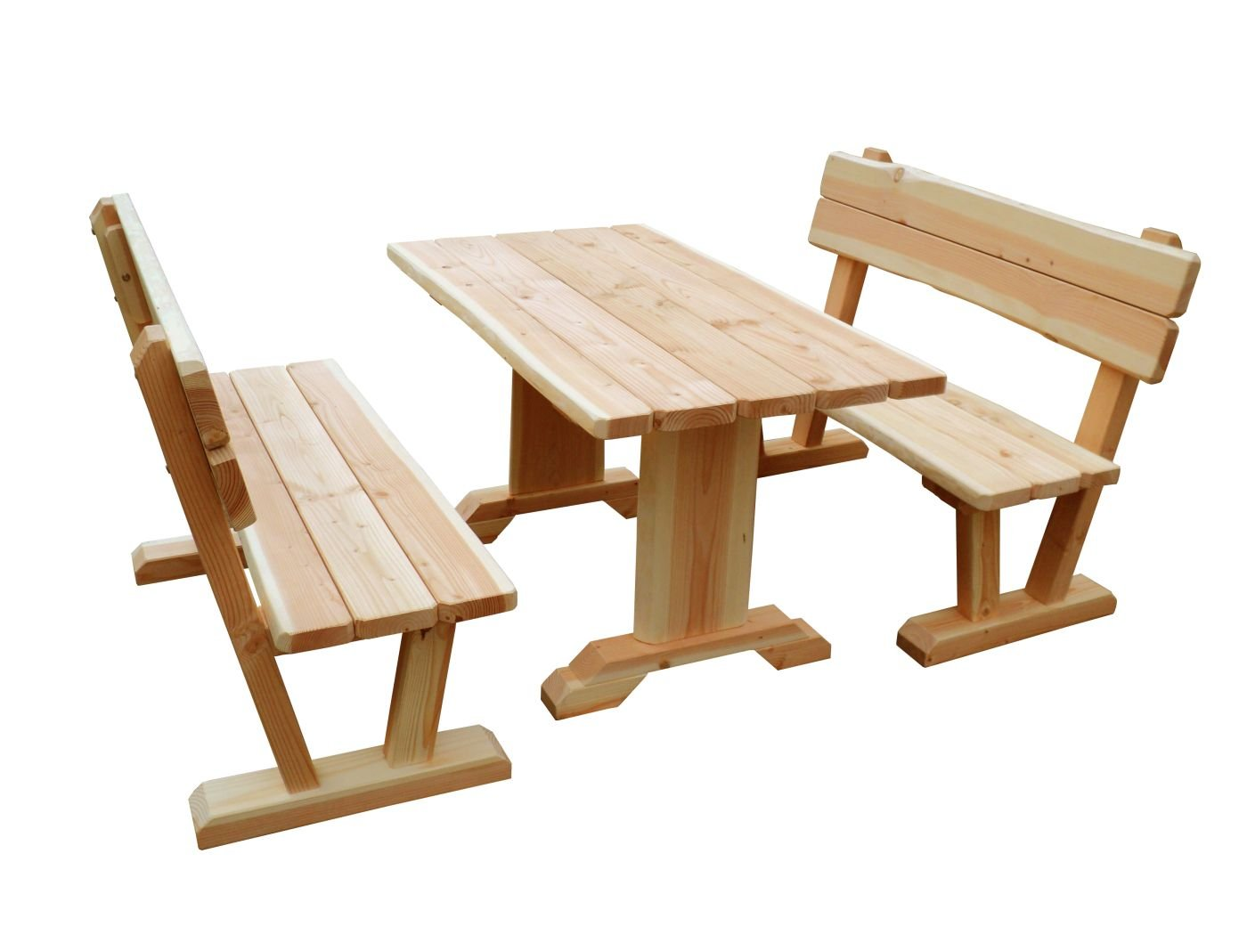 b+t ISG150-N Erwachsenen-Garnitur/ zerlegbar/ Douglasie