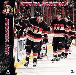 Turner Perfect Timing 2015 Ottawa Senators Team Wall Calendar, 12 x 12 Inches (8011737)