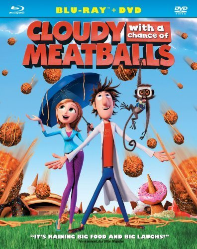 Cloudy with a Chance of Meatballs (Two-Disc Blu-ray/DVD Combo) [Blu-ray] by Sony