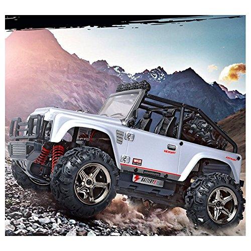 Teckey-RC-Modellauto-Mastab-122-Ferngesteuerter-Monsterbuggy-RTR-Fertig-montiert-stofest-24GHz-Digital-vollproportionale-Steuerung-Allradantrieb-fr-jedes-Gelnde-High-speed-bis-45-kmStd