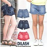 (ディラッシュ) DILASH初夏'16/カラーデニムショートパンツ 110 ピンク ランキングお取り寄せ