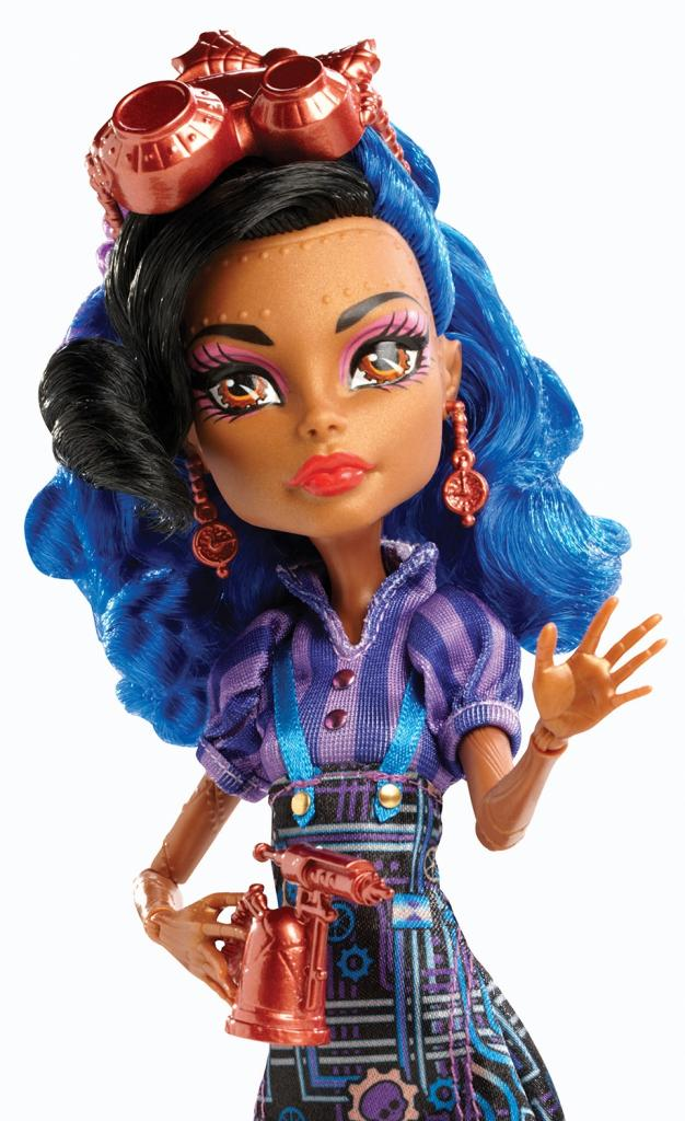 Monster high art class robecca steam doll toys games - Monster high robecca steam ...