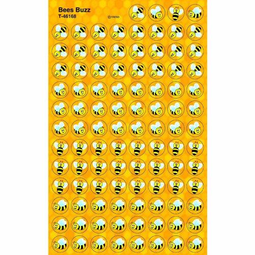 Trend Enterprises Bees Buzz Super Spots Stickers (T-46168)