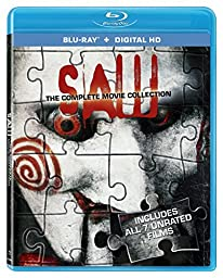 Saw: The Complete Movie Collection [Blu-ray + Digital HD]
