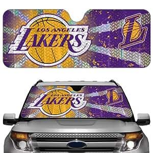 NBA Los Angeles Lakers 23'' x 57'' Reflective Auto Sun Shade