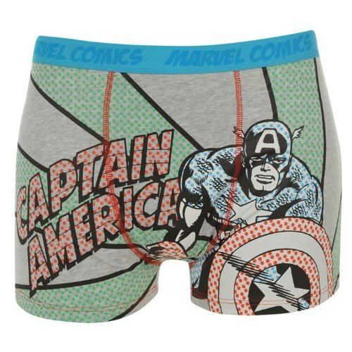 Sale alerts for Marvel Marvel Captain America Pack of 2 Boys Kids Boxers Boxer Shorts Pants Underwear Trunks (9-10) - Covvet